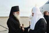 Святейший Патриарх Кирилл прибыл на Новую Землю