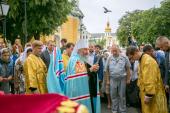 В Украинской Православной Церкви молитвенно отметили четвертую годовщину интронизации Блаженнейшего митрополита Онуфрия