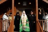 Слово Святейшего Патриарха Кирилла при посещении Никольского храма на Новой Земле