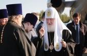 Святейший Патриарх Кирилл прибыл в Великий Устюг