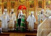 Слово Святейшего Патриарха Кирилла после Литургии в Богоявленском кафедральном соборе города Нарьян-Мара