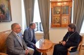 Состоялась встреча председателя ОВЦС с группой христианских деятелей из Швейцарии