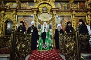 Слово Святейшего Патриарха Кирилла после всенощного бдения в соборе праведного Прокопия Устюжского в Великом Устюге