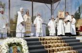 Патриаршая проповедь в праздник Преображения Господня после Литургии на центральной площади Котласа