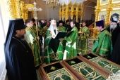 Святейший Патриарх Кирилл прибыл в Соловецкий монастырь