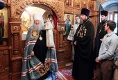 Патриарший наместник Московской епархии возглавил торжества по случаю 340-летия основания Знаменского храма подмосковного села Кузьминское