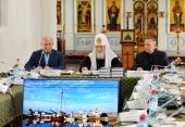 Предстоятель Русской Церкви провел рабочее совещание по вопросам развития Соловецкого архипелага