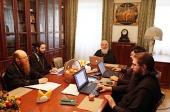 Состоялось очередное заседание рабочей группы по кодификации акафистов