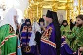 Слово Святейшего Патриарха Кирилла при вручении архиерейского жезла Преосвященному Ипатию (Голубеву), епископу Анадырскому и Чукотскому