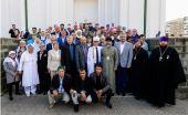 Епископ Салаватский Николай посетил прием в соборной мечети г. Салавата по случаю праздника Курбан-байрам