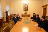 Председатель ОВЦС встретился с послом Италии в России