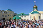 День памяти святителя Тихона Задонского торжественно отметили в Задонском монастыре