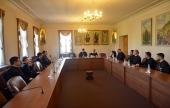 Представители Римско-Католической Церкви в рамках ежегодного Летнего института посетили Отдел внешних церковных связей