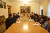 Состоялась встреча председателя Отдела внешних церковных связей с послом Индонезии