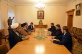 Митрополит Волоколамский Иларион встретился с аятоллой Сейедом Мусави