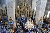 Митрополит Таллинский Евгений возглавил престольные торжества в Успенском Пюхтицком монастыре