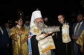 Десница святителя Спиридона Тримифунтского принесена в Екатеринбург