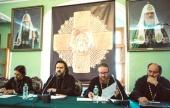 В Московской духовной академии под председательством архиепископа Верейского Амвросия состоялось заседание Ученого совета и Общее собрание преподавателей