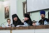 Епископ Петергофский Серафим возглавил заседание Общего собрания и Ученого совета Санкт-Петербургской духовной академии