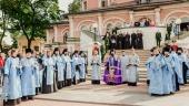 В Донской ставропигиальный монастырь принесена Донская икона Божией Матери