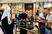 Святейший Патриарх Кирилл: Это был разговор Предстоятелей, сознающих ответственность за состояние Вселенского Православия