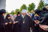 Предстоятель Украинской Православной Церкви возглавил праздничное богослужение во Флоровском монастыре Киева