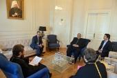 Митрополит Волоколамский Иларион встретился с председателем Организации по культуре и исламским связям Ирана