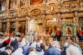 В Донском ставропигиальном монастыре прошли торжества по случаю праздника Донской иконы Божией Матери