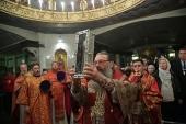В Екатеринбурге мощам святителя Спиридона Тримифунтского поклонились более 60 тысяч человек