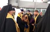 Десница святителя Спиридона Тримифунтского принесена в Красноярск
