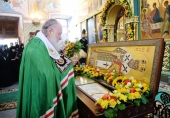 Патриаршая проповедь после Литургии в Стефано-Махрищском ставропигиальном монастыре