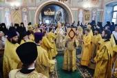 В день памяти святителя Варлаама Махрищского Святейший Патриарх Кирилл совершил Литургию в Стефано-Махрищском ставропигиальном монастыре