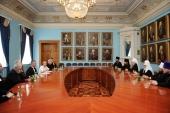 Святейший Патриарх Кирилл встретился с делегацией Евангелическо-лютеранской церкви Финляндии
