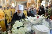 В Алма-Ате молитвенно почтили память митрополита Иосифа (Чернова)