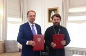 Подписано соглашение о сотрудничестве между Общецерковной аспирантурой и Санкт-Петербургским государственным университетом