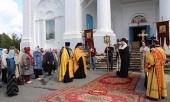 Пострадавший от землетрясения город Катав-Ивановск посетил епископ Златоустовский Викентий