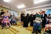 Святейший Патриарх Кирилл посетил Когалымский комплексный центр социального обслуживания населения