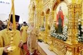 Предстоятель Русской Церкви освятил храм мученицы Татианы в Когалыме