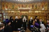 Святейший Патриарх Кирилл посетил Троицкий храм в Норильске