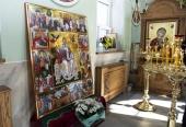 С греческого острова Корфу в Свято-Троицкий храм села Шуйского Вологодской области доставлена икона святителя Спиридона Тримифунтского