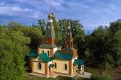 Глава Казахстанского митрополичьего округа совершил великое освящение храма преподобномученицы Елисаветы в поселке Кольди Алма-Атинской области