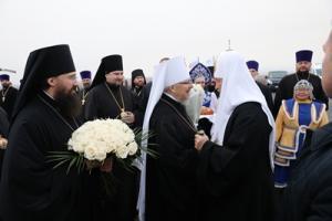 Святейший Патриарх Кирилл прибыл в Норильск
