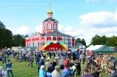 На подворье Новоспасского монастыря в подмосковном селе Сумароково прошел IV Международный фестиваль монастырских подворий