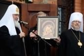 Слово Святейшего Патриарха Кирилла при посещении Введенского храма в Дудинке