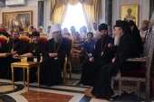 Делегация Украинской Православной Церкви встретилась с Блаженнейшим Патриархом Иерусалимским Феофилом