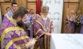 В праздник Усекновения главы Иоанна Крестителя митрополит Минский Павел совершил Литургию в Свято-Духовом кафедральном соборе Минска