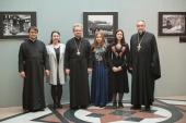 В Храме Христа Спасителя в Москве открылась выставка, посвященная 625-летию Коневского монастыря