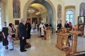 В московском храме великомученицы Екатерины на Всполье почтили память жертв террористической атаки 11 сентября 2001 года