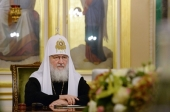 Святейший Патриарх Кирилл возглавил внеочередное заседание Священного Синода Русской Православной Церкви