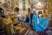 В Неделю 16-ю по Пятидесятнице Блаженнейший митрополит Киевский Онуфрий совершил Литургию в Киево-Печерской лавре